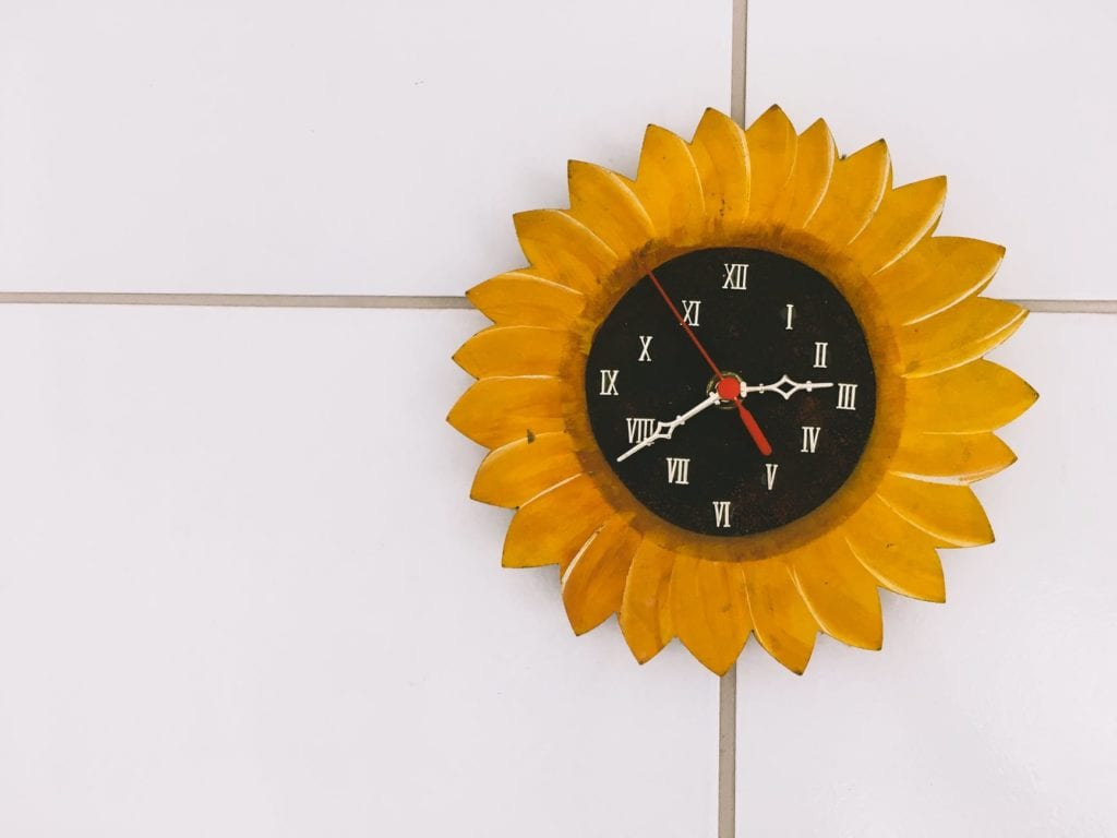 Kids-Room Wall Clock: The Object Of Delight